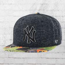 47 Brand Kappe MLB NY Yankees Basecap Snapback Cap grau floral Mütze Haube Capi