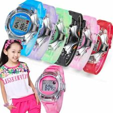 Waterproof Child Boy Girl Sports Electronic Digital Wrist Watches for Kids Gift