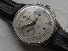 Universal Geneve Chronograph mens wristwatch cal. 285 refinished dial