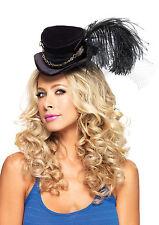 Delivery- Leg Avenue Steampunk Top Hat Black