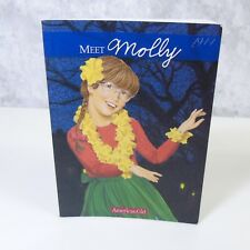 NEW American Girl Of The Year Doll MEET MOLLY BOOK Paperback Story World War Era