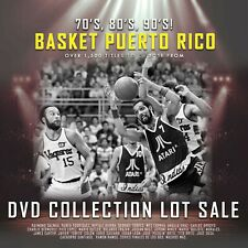 Puerto Rico Basket- DVD Collection Lot Sale - $250 for 50 DVDs