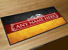 Personalizado Bandera Alemana Etiqueta de cerveza toalla de bar bar Pub TAPETE