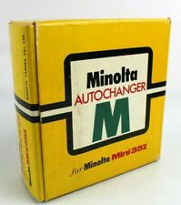 Minolta Autochanger for Mini 35ii w/ Original Box