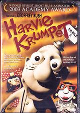 Harvie Krumpet (DVD, 2004) Geoffrey Rush,John Flaus,Adam Elliot,claymation New