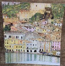 """Malcena at the Gardasee Gustav Klimt  Fine ArtPrint Reproduction 11x11.5"""""""