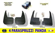 Paraspruzzi Fiat Panda Sisley Anteriori Posteriori Set 4 per auto para schizzi