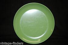 Old Vintage Melmac Avocado Green Salad Plate Melamine Tableware Camping Tool Usa