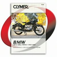 1960-1969 BMW R69S Repair Manual Clymer M308 Service Shop Garage Maintenance