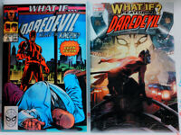 WHAT IF (1989) #2 + DAREDEVIL NINJA #1 VF Marvel Comics KINGPIN The Punisher