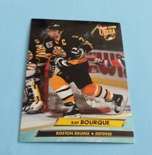 1992/93 Fleer Ultra Hockey Ray Bourque Card #2***Boston Bruins***