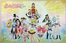 Sailor Moon Sailor Stars Poster Viz Media Sdcc Comic Con 2019 Exclusive 11x7 New