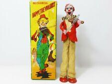 Tps 1950s Lamiera Meccanico Felice il Violinista Clown 1st Ver. con Box Giappone