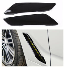 Side Wing Air Vent Hood Intake Fender Cover Trim for BMW 5 Series G30 2017 2018