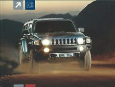 Truck Brochure - Hummer - H3 H3 ET V8 - c2008 FRENCH language (T2409)