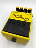 BOSS OD-2 Turbo Overdrive '88 Vintage MIJ Guitar Effect Pedal Made in Japan