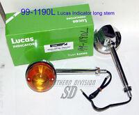 LUCAS long TURN SIGNAL 60-4104 60-7102 99-1190 56147 56559 Blinker Triumph BSA
