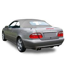 Mercedes Benz W208 CLK Series 1999-2003 Convertible Soft Top Orion Gray German