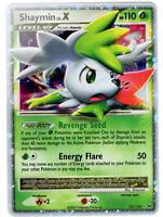 Shaymin LV.X Ultra Rare Holo Shiny Pokemon Card Pt1 Platinum 127/127