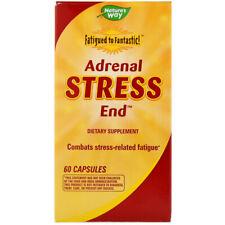 Adrenal Fatigue Stress Formula 60Caps | Adrenal Cortex Pantothenic Acid Licorice