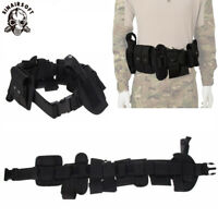 Police Security Guard Modular Enforcement Equipment Duty Belt Tactical 800 Nylon