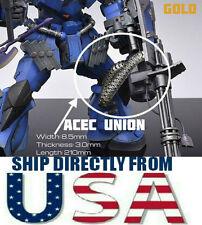 CJ Weapons Detail Up GOLD Metal Link Metallic Belt MG 1/100 GUNDAM - USA SELLER