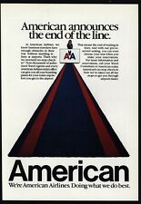1984 AMERICAN AIRLINES - No Stop Check In - Doing What We Do Best - VINTAGE AD