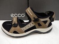 New ECCO Womens Flowt Strap Lion Cashmere Leather Sandals 273603 51323