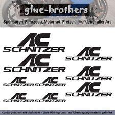 AC SCHNITZER Aufkleber Set Farbauswahl Auto Tuning Decal Car Sticker Sponsoren