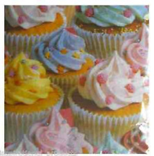 20 Pk Realistic CUPCAKE SWIRL ICING All Occasion Luncheon Paper Napkin 2ply 13""