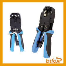 PINZA CRIMPATRICE PROFESSIONALE PER A CRIMPARE FASTON CAPICORDA CON CRICCHETTO