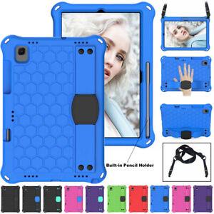 "For Samsung Galaxy Tab A7 10.4"" T500 2020 Kids EVA Foam Stand Strap Case Cover"