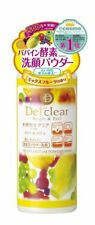 MEISHOKU Detclear Bright & Peel Fruits Enzyme Powder Wash Japan Import