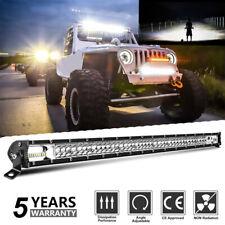 "Dual Row 32inch 252W LED Work Light Bar Spot Flood Combo Beam Offroad Truck 30"""