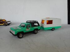 1/36 MAJORETTE DIECAST TOY CHEVY BLAZER T-SHIRTS  WITH CARAVAN N MINT RARE SET