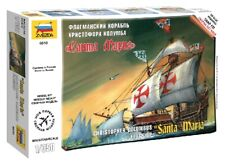 Columbus Expedition Flagship Caravel Santa Maria Caravella 1:350 Model Kit