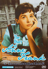 The Diary of Anne Frank (1959) - Millie Perkins, Joseph Schildkraut - DVD NEW
