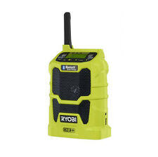 New Ryobi One+18V Bluetooth Wireless Portable Stereo Fm Radio Speaker No Battery