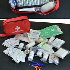 180pcs/Pack First Aid Kit Safe Travel  Medical Emergency Kit Treatment Pack