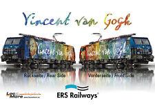 Märklin 39864 locomotive électrique ES 64 F4-206 Vincent van Gogh mfx+ Son