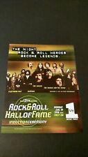 13Th Annual Rock & Roll Hall Of Fame (1998) Rare Original Print Poster Ad
