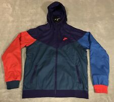 Nike Sportswear Windrunner Jacket Men's MEDIUM M MULTI-COLOR 727324 590 NWT