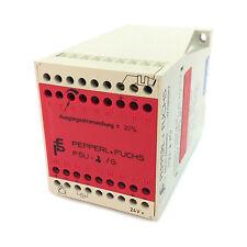 Control Unit FSU-2/G PepperL & Fuchs 24V FSU2G