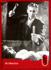 HAMMER HORROR - Series Two - Card #10 - Dracula - Strictly Ink