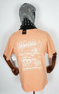 Huf Worldwide Skateboard T-Shirt Tee Shirt OG Harry Canyon Sunset in S