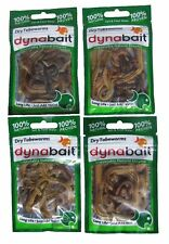 Dynabait freezed dry tube worms - 4 packs