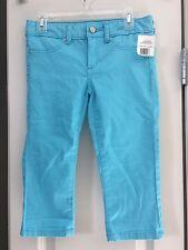 NWT Girls Joe's Aqua Blue Denim Jeans Size 10 Pants joes