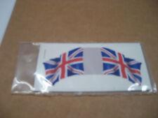 MARX BATTLEGROUND EUROPEAN PLAY SET DECAL STICKER BRITISH HAND MADE FLAG