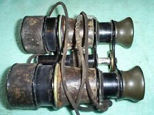 ANTIQUE BRITISH MILITARY BINOCULARS PAX NO.1