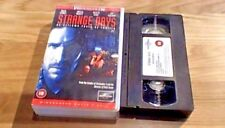 STRANGE DAYS Widescreen CIC UK PAL VHS VIDEO 1996 Raloh Fiennes Kathryn Begelow